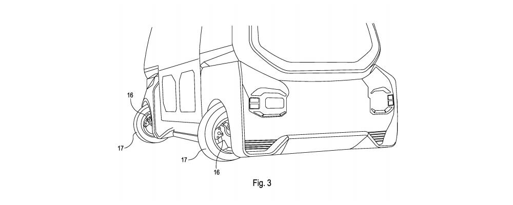 Driving arrangement drawing
